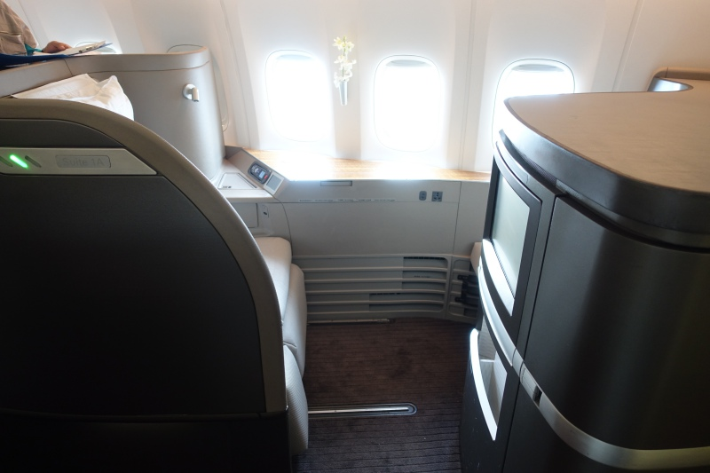 Seat 1A, Cathay Pacific First Class Review
