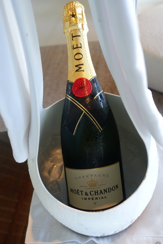 Champagne Welcome Amenity