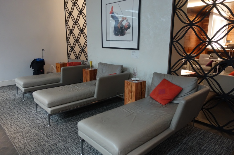 Day Beds, AMEX Centurion Lounge San Francisco Review
