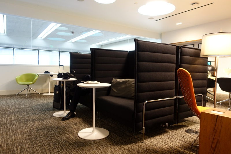 Lounge Seating, AMEX Centurion Lounge San Francisco Review