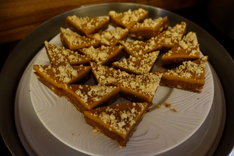Pumpkin Blondies, AMEX Centurion Lounge SFO Review