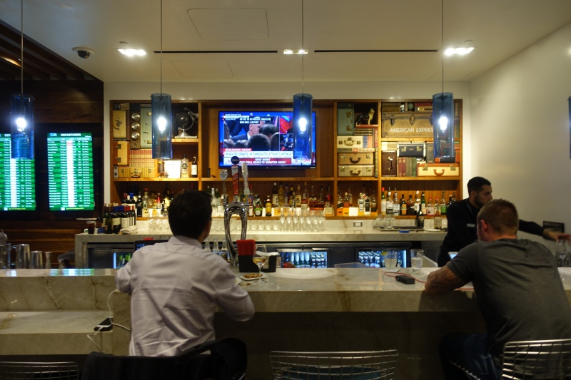 AMEX Centurion Lounge San Francisco Bar Review