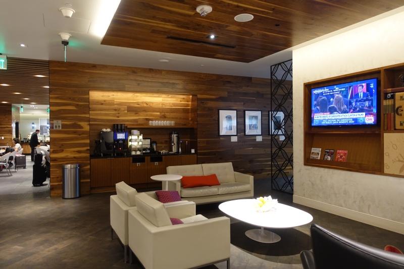 Review American Express Centurion Lounge San Francisco SFO