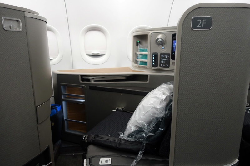 Review: American First Class Seat 2F, A321 (32B)