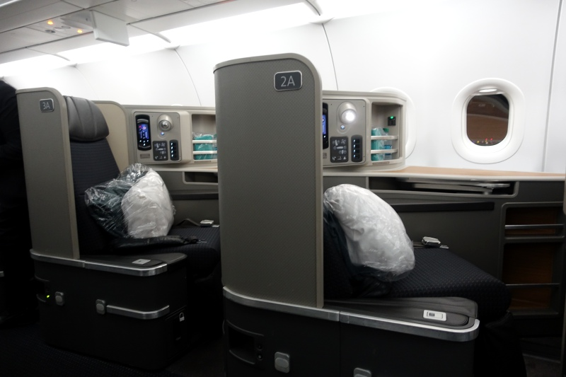 Review-American First Class A321 Transcon