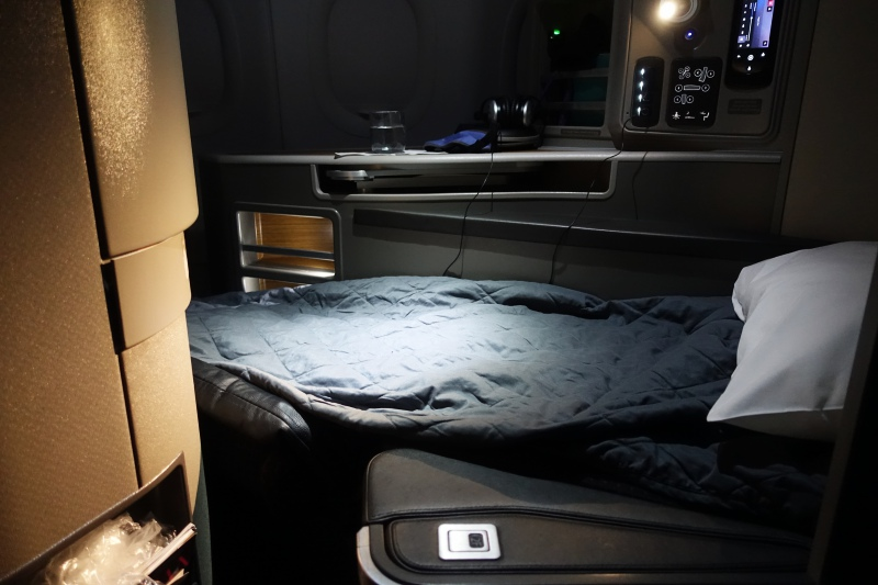 Flat Bed, American First Class A321 SFO-NYC Review