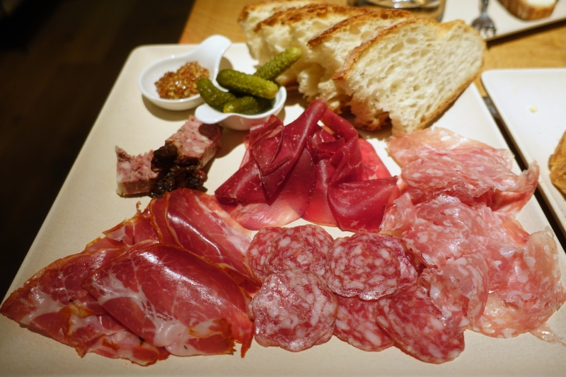 Charcuterie Plate, ENO Wine Bar Review, Georgetown, Washington, DC