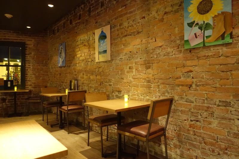 Upstairs Seating, ENO Wine Bar, Four Seasons Washington, DC Review