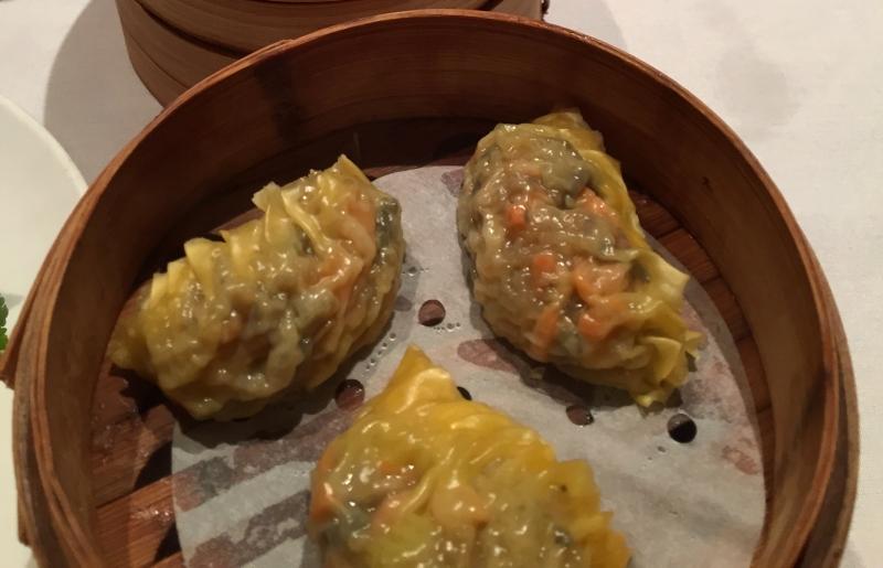Mushroom Dumplings, Dim Sum Go Go Review, NYC