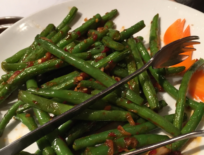Chinese Long Beans, Dim Sum Go Go Review, NYC