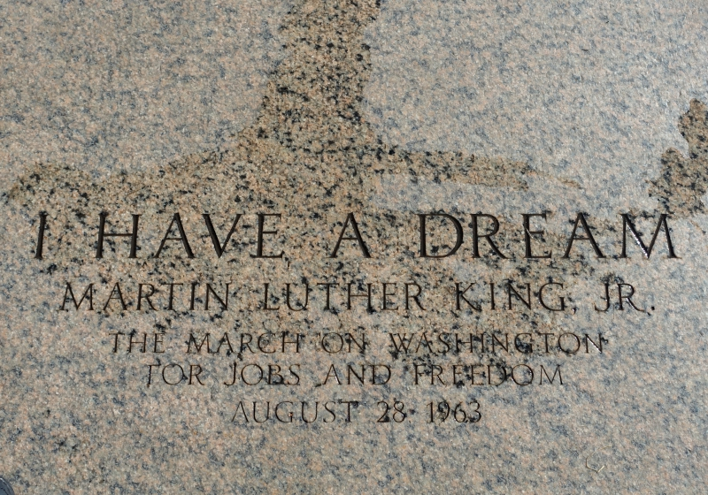 Martin Luther King Jr's I Have a Dream Speech Was Given at the Lincoln Memorial