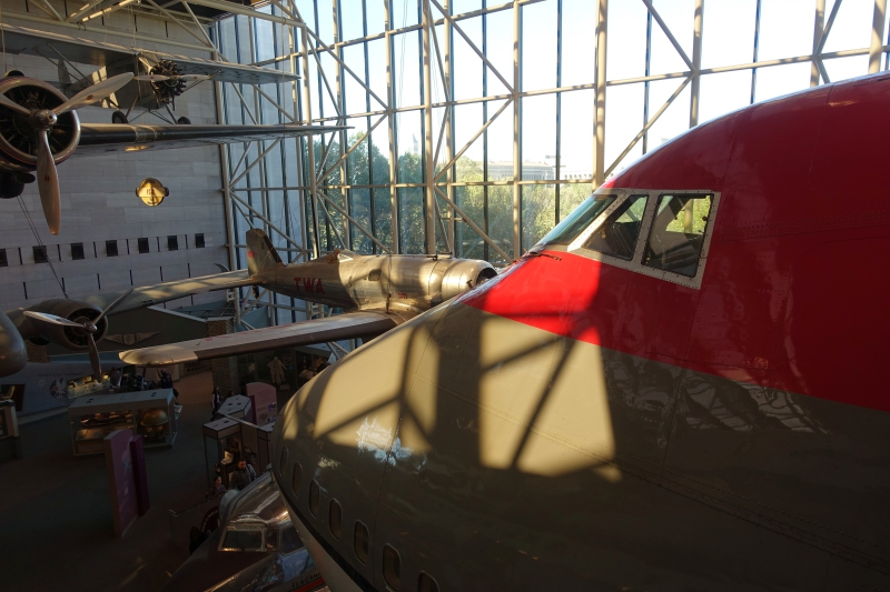 Northwest Airlines 747, National Air & Space Museum, DC