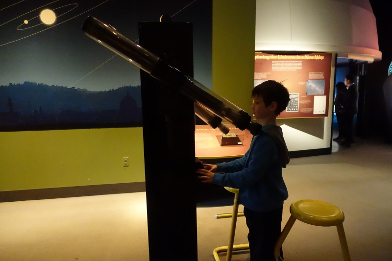 Telescope, National Air & Space Museum, DC