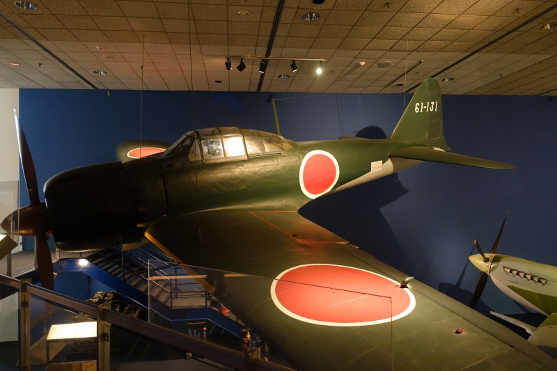 Mitsubishi A6M5 Zero Fighter, National Air & Space Museum, DC Review