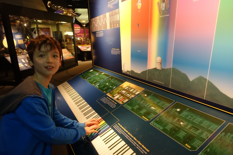 Exploring Types of Light Rays, National Air & Space Museum, DC