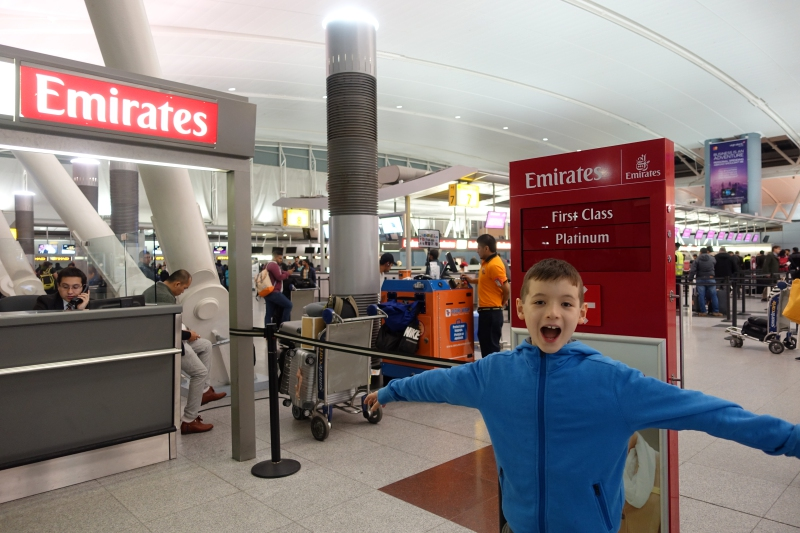 Excited to Fly Emirates A380 First Class!