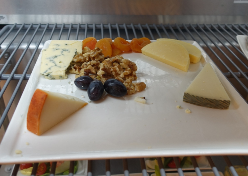 Cheese Plate, Emirates Lounge JFK Review