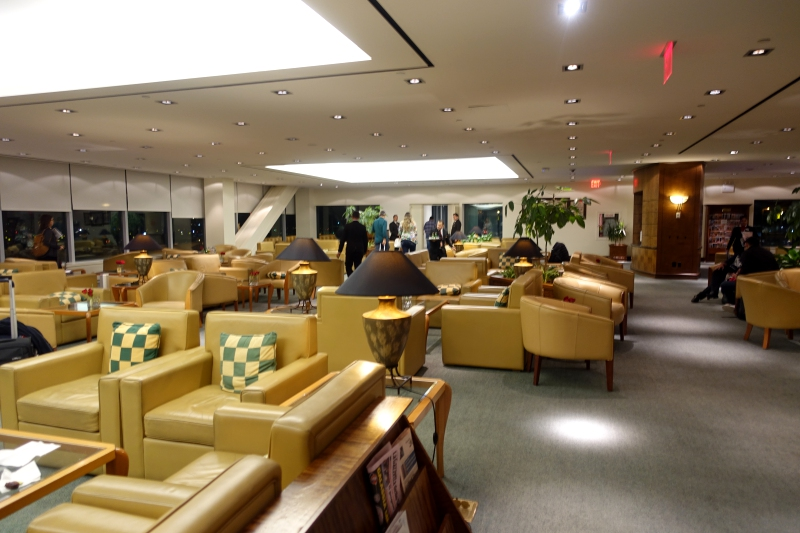 Emirates Lounge JFK Review