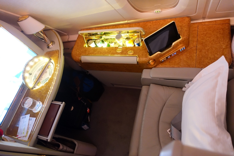 Emirates A380 First Class Seat Review