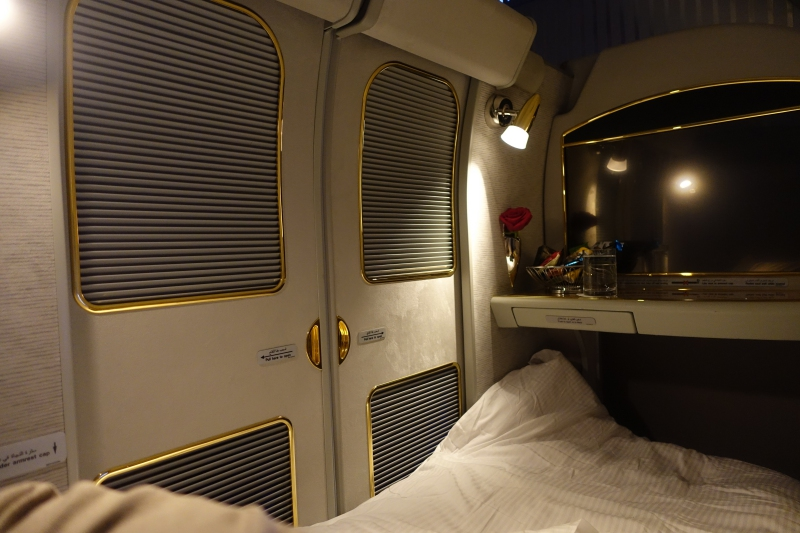 Review: Emirates First Class A380 New York to Dubai