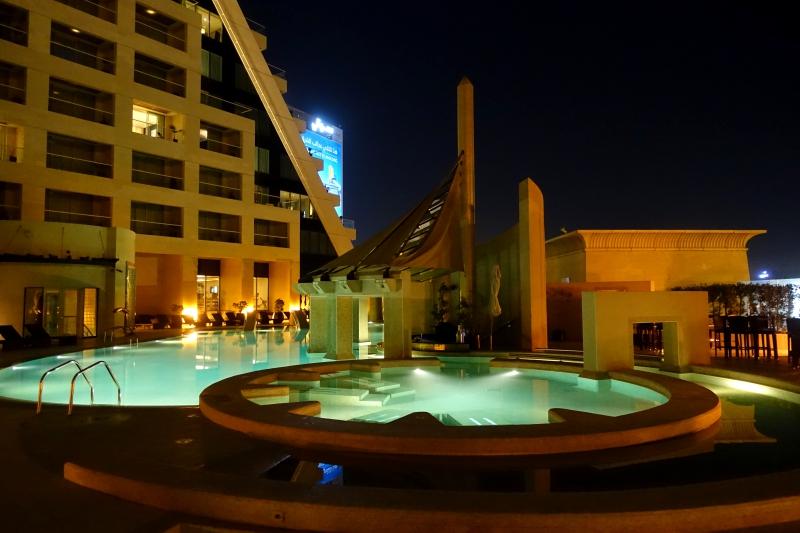 Jacuzzis, Raffles Dubai Review