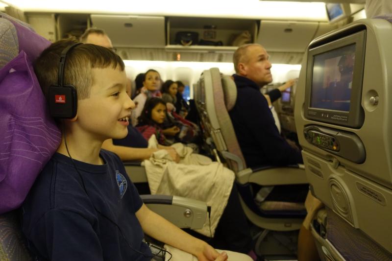 Emirates Economy Class Review, 777-300