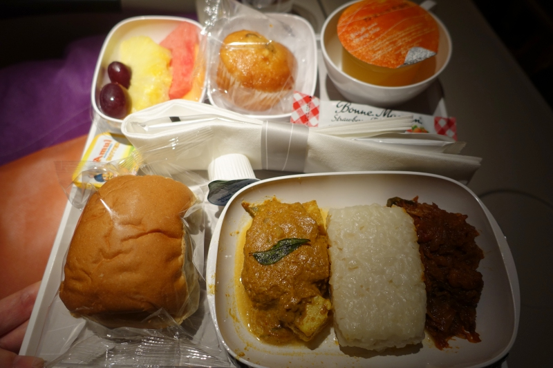 Emirates Economy Class Meal Review