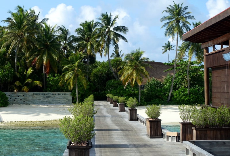 Arrival Jetty, Park Hyatt Maldives Review 2016