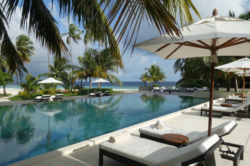 Main Pool, Park Hyatt Maldives Review