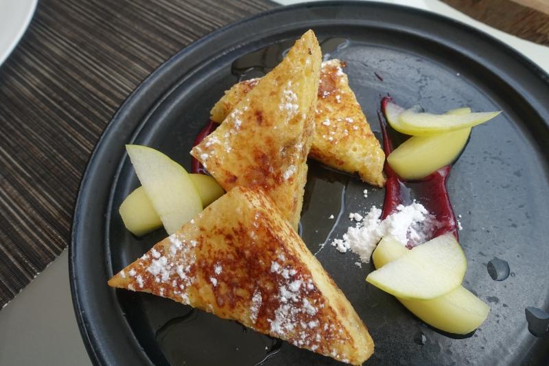 French Toast, Park Hyatt Maldives