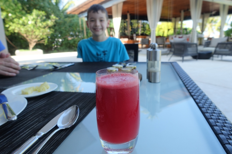 Watermelon Juice, Park Hyatt Maldives Review