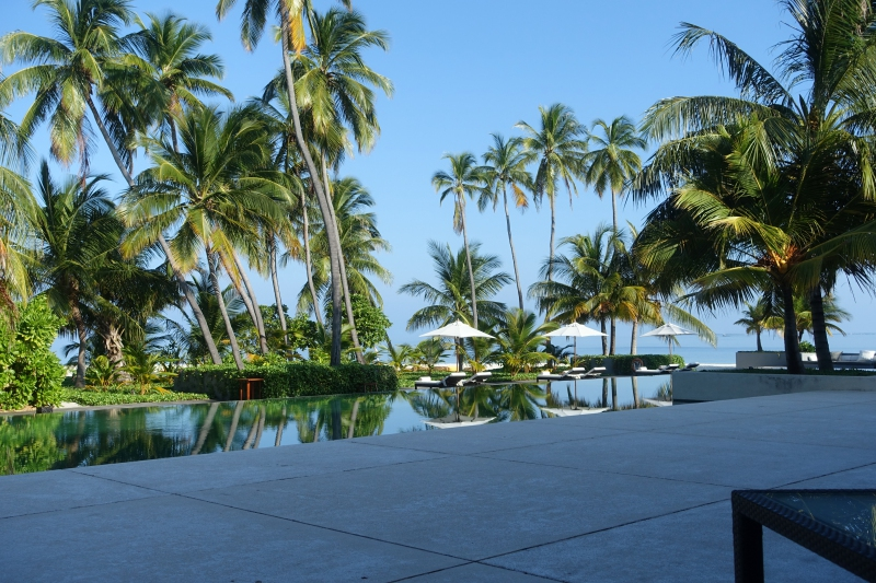 View from The Dining Room, Park Hyatt Maldives