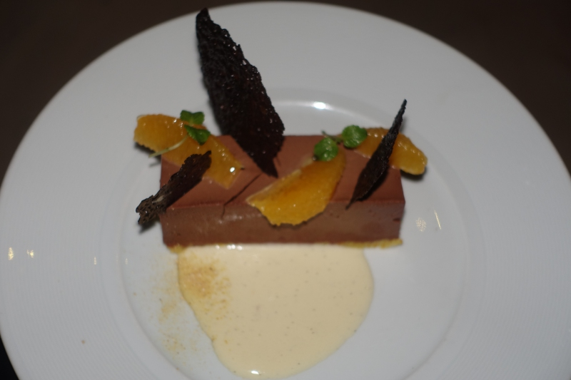 Chocolate Pudding Dessert, Island Grill