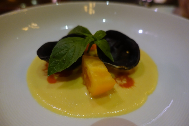 Crab and Ricotta Tortellini, Island Grill, Park Hyatt Maldives