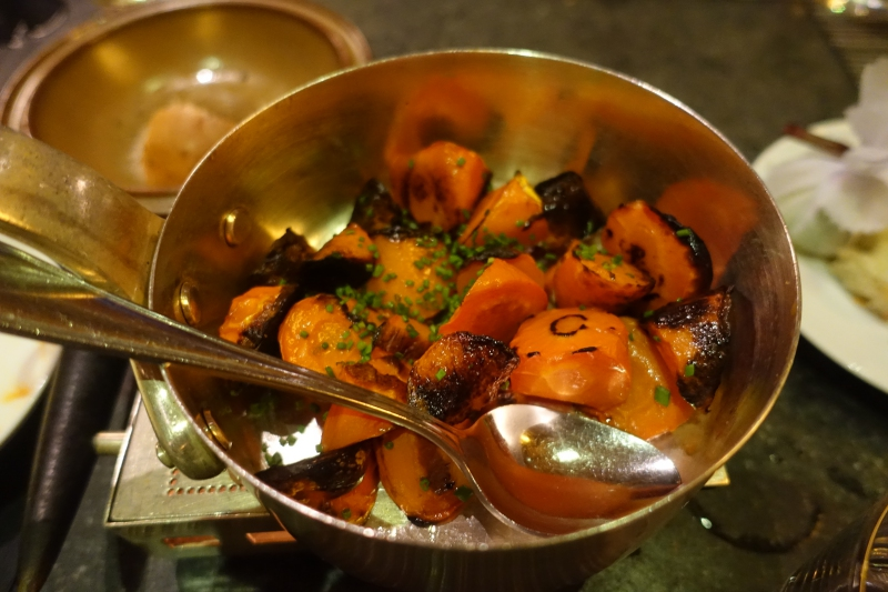 Roast Carrots with Thyme and Honey, Island Grill, Park Hyatt Maldives Review
