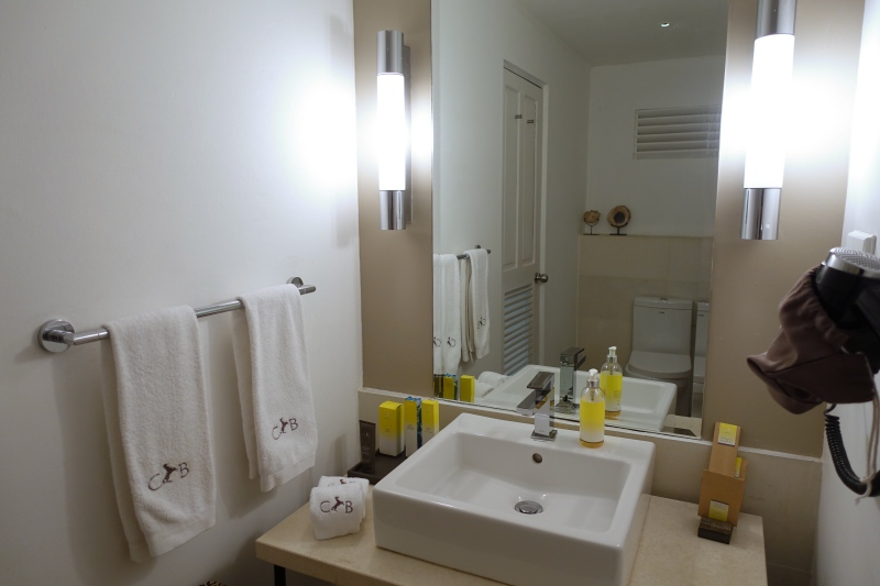 Bathroom, Cheval Blanc Randheli Lounge Review