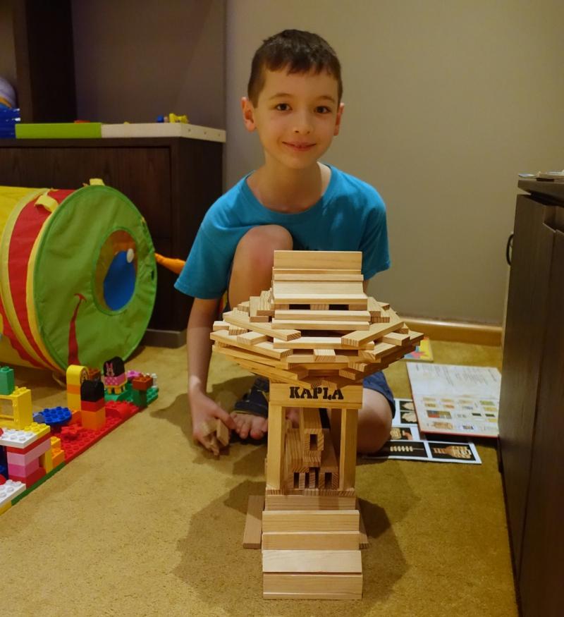 Our New (Kapla) Villa, Cheval Blanc Randheli Kids' Play Room