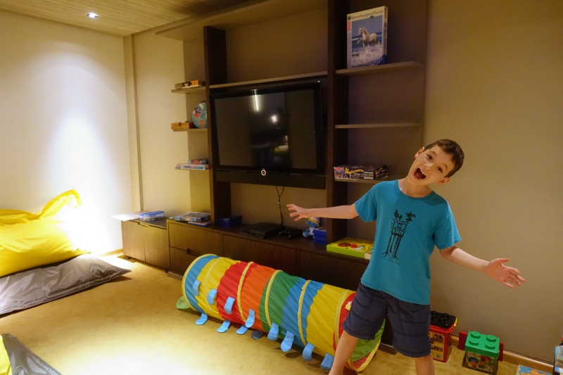 Kids' Play Room, Cheval Blanc Randheli Lounge Review