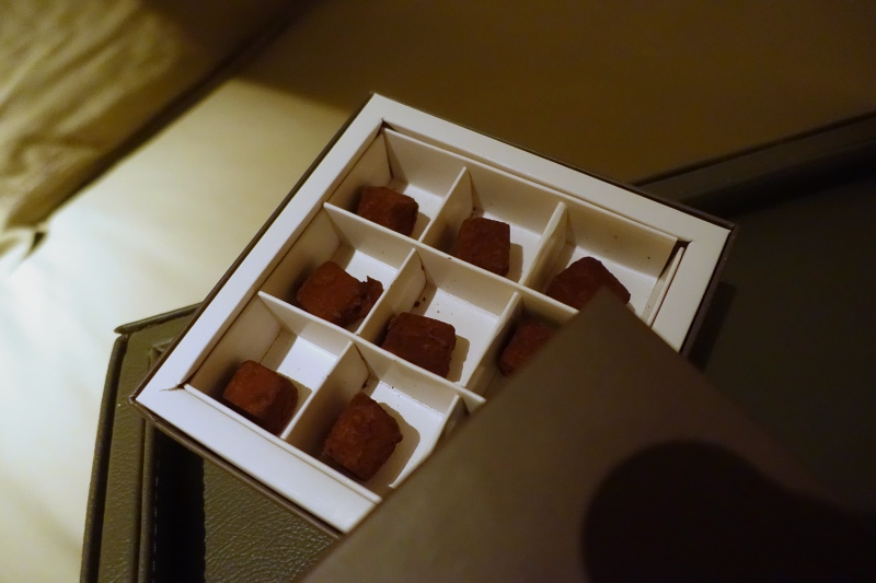 Chocolates at Turndown, Cheval Blanc Randheli Review