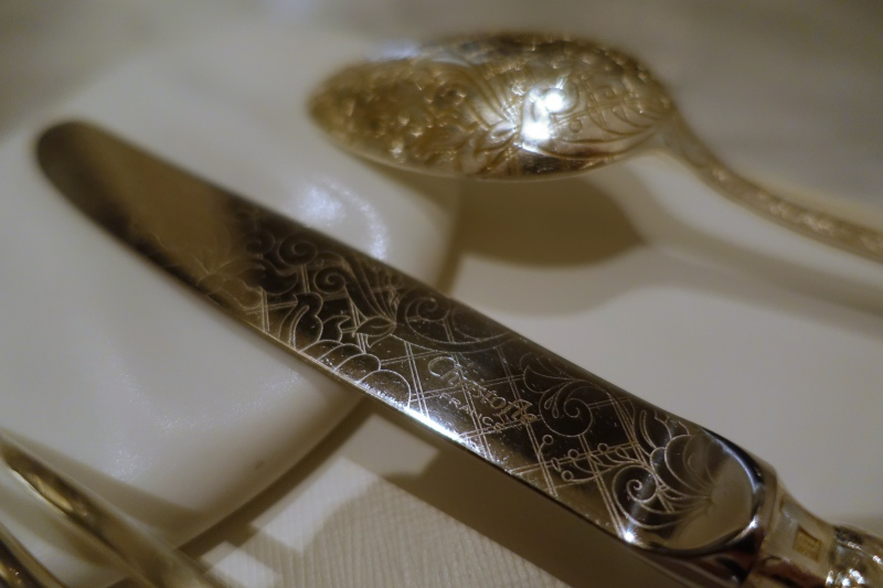 Christofle Silverware, Le 1947 Review, Cheval Blanc Randheli, Maldives