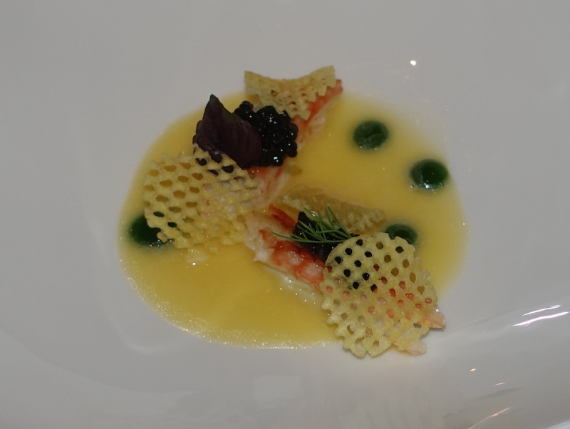 King Crab with Osetra Caviar and Yuzu, Le 1947 Review