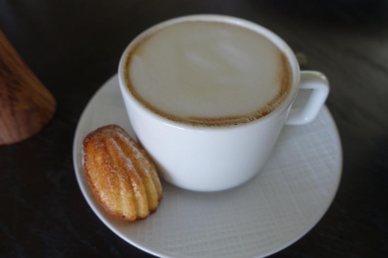 Cappuccino and Madeleine, Cheval Blanc Randheli Breakfast