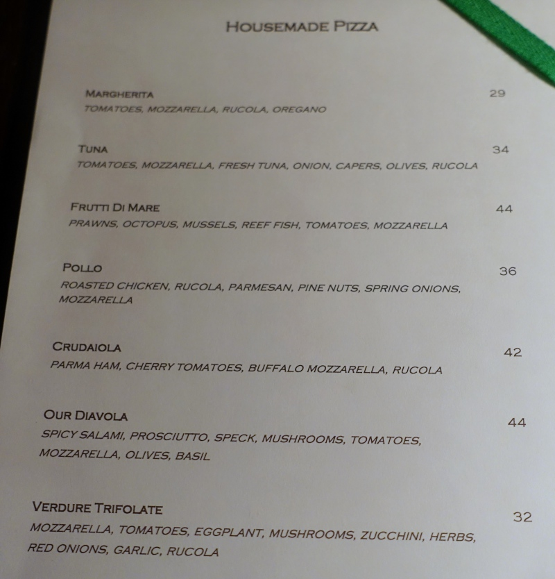 Deelani Pizza Menu, Cheval Blanc Randheli