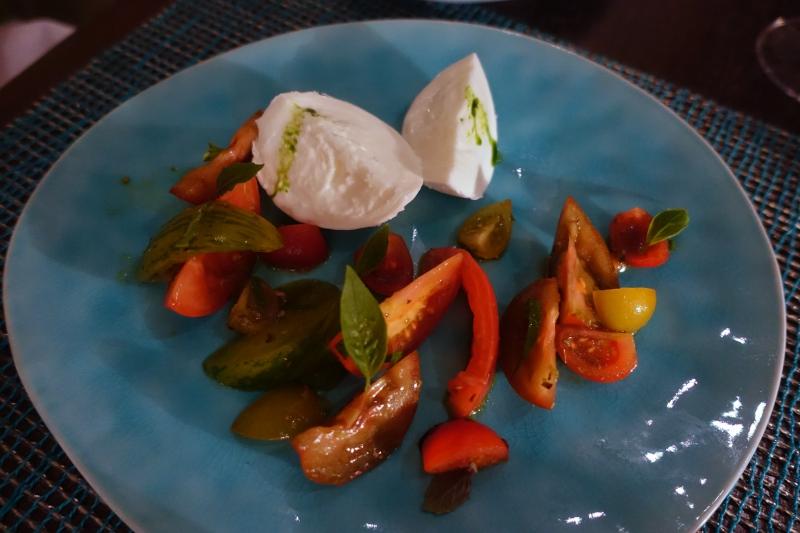 Kids' Menu Tomato and Mozzarella Salad, The Deelani