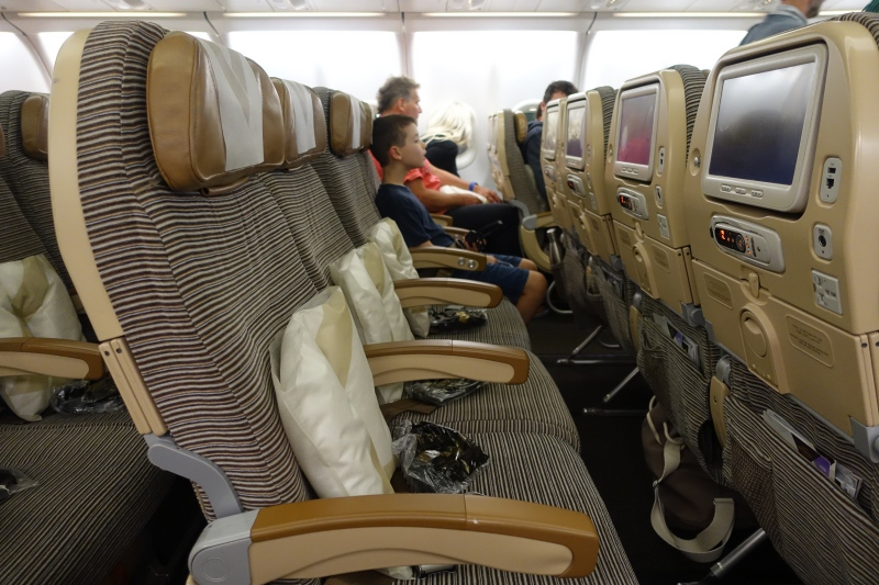 Etihad Airways Economy Class Review, A330-200