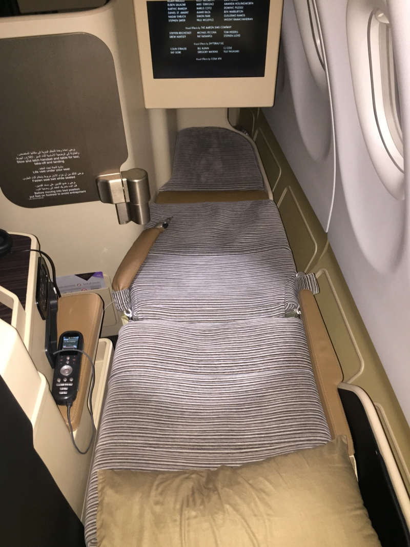 Etihad Business Class Flat Bed Review, A330-200