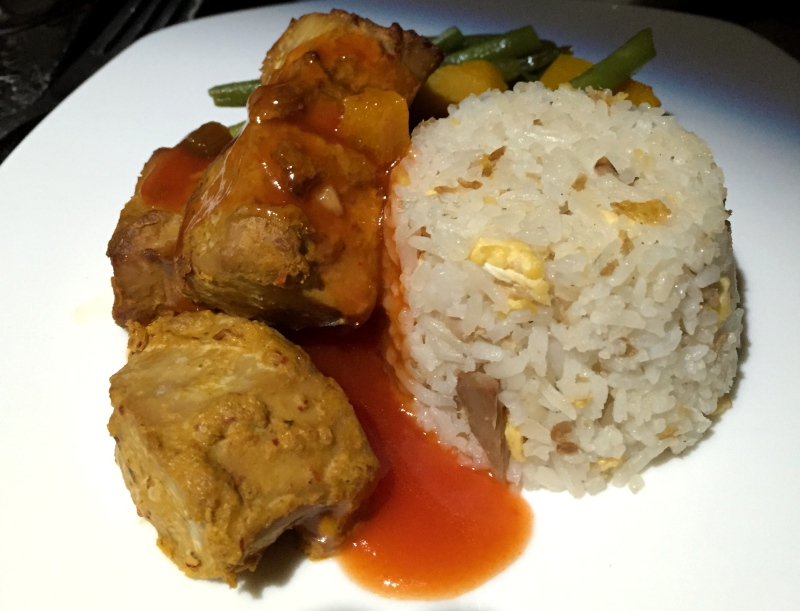Maldivian Spiced Tuna, Etihad Business Class Review
