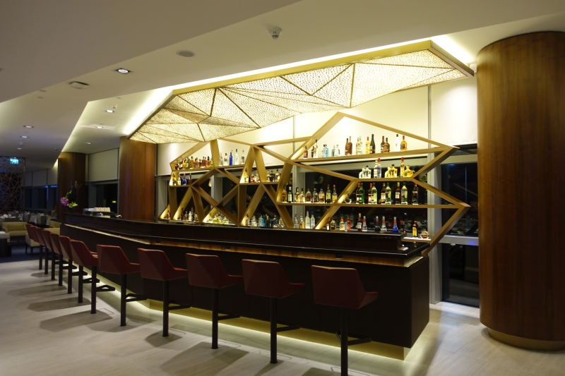 Bar, Etihad First Class Lounge Abu Dhabi Review