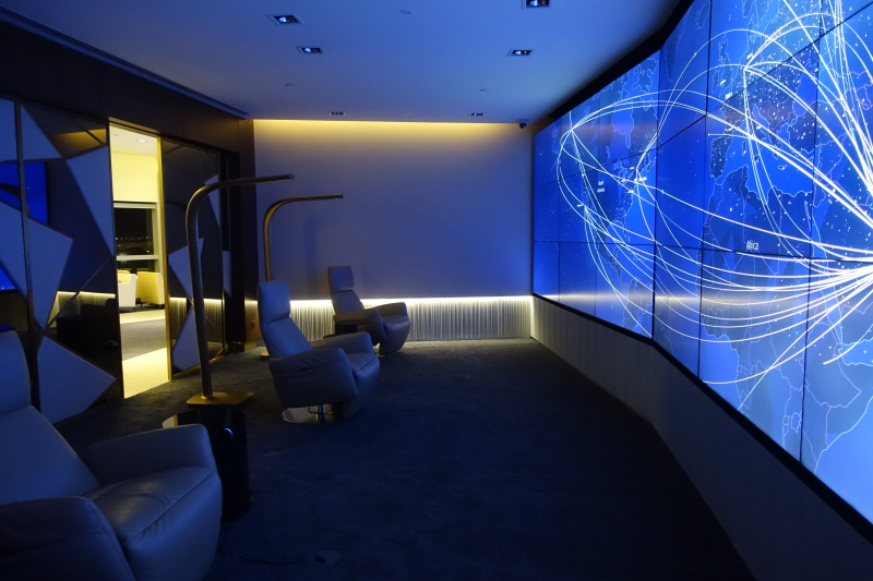 Relax & Recline Room, Etihad First Class Lounge AUH Review