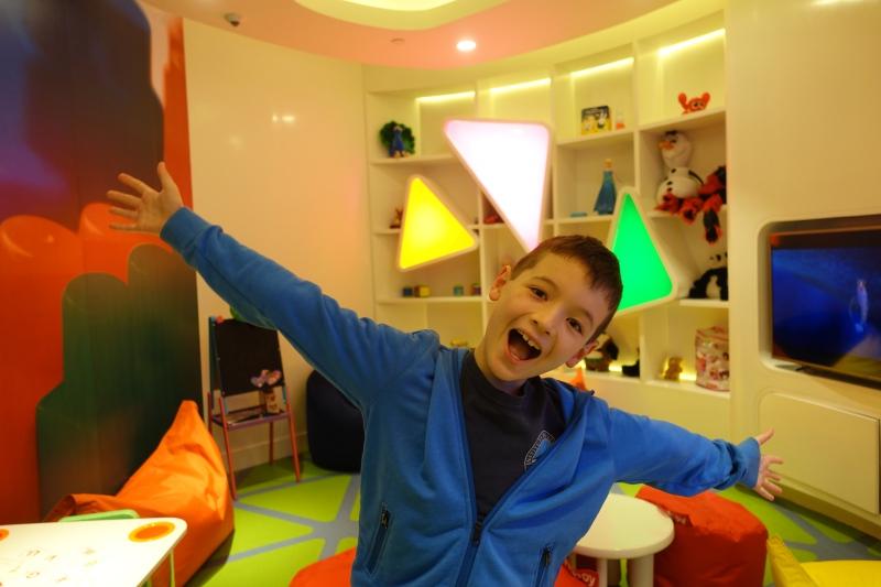 Kids' Play Room, Etihad First Class Lounge Abu Dhabi Review